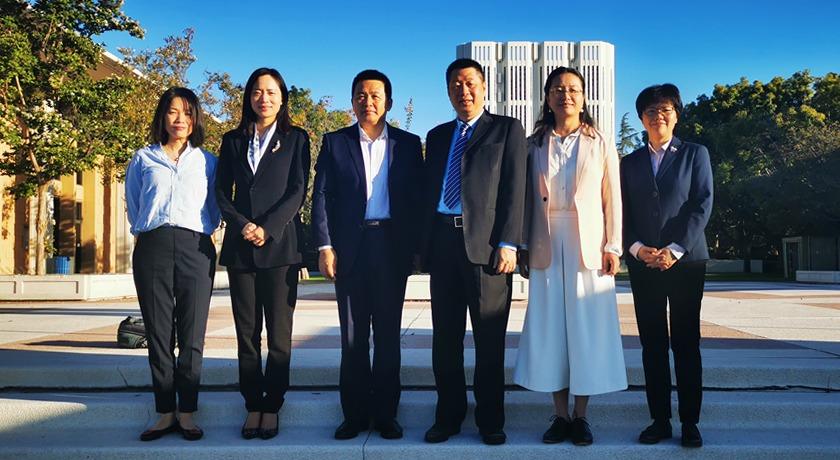 CCC&TSPM Delegation Visits the United States