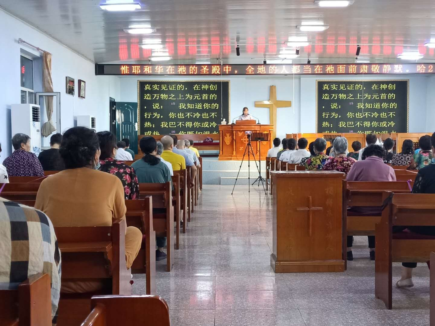 Twelve Churches in Songyuan Resume Worship Services