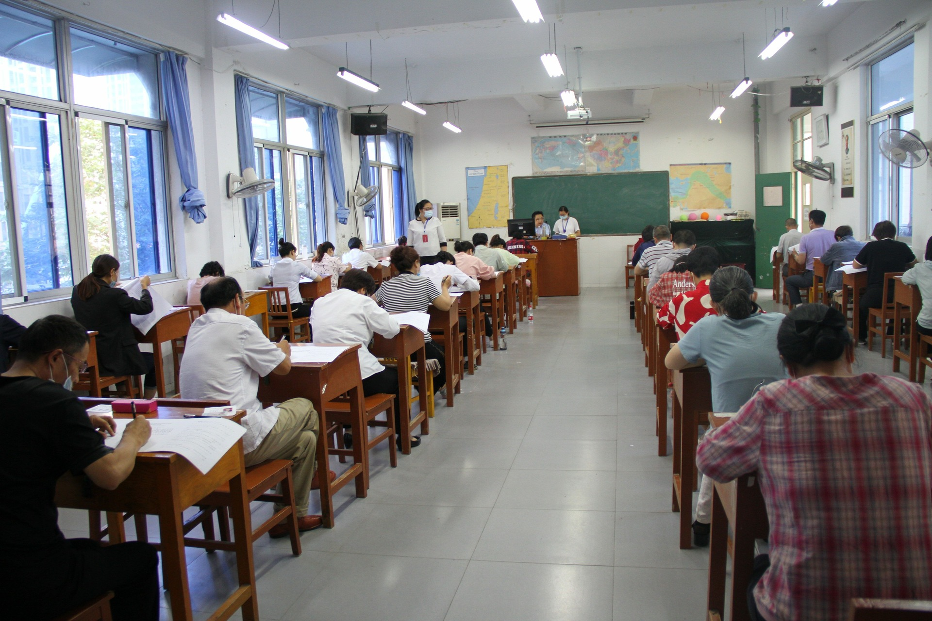 Anhui Theological Seminary Conducts 2020 Enrollment Exam