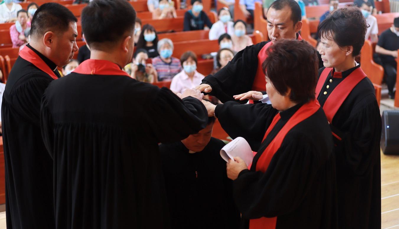 Inner Mongolia CC&TSPM Holds Ordination Ceremony