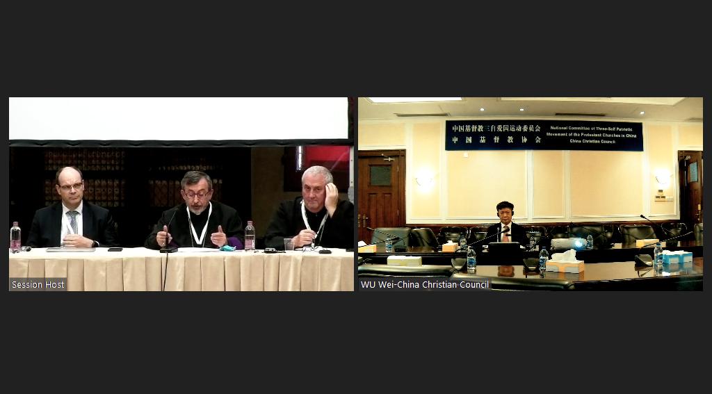 Rev. Wu Wei Participates in G20 Interfaith Forum 2021