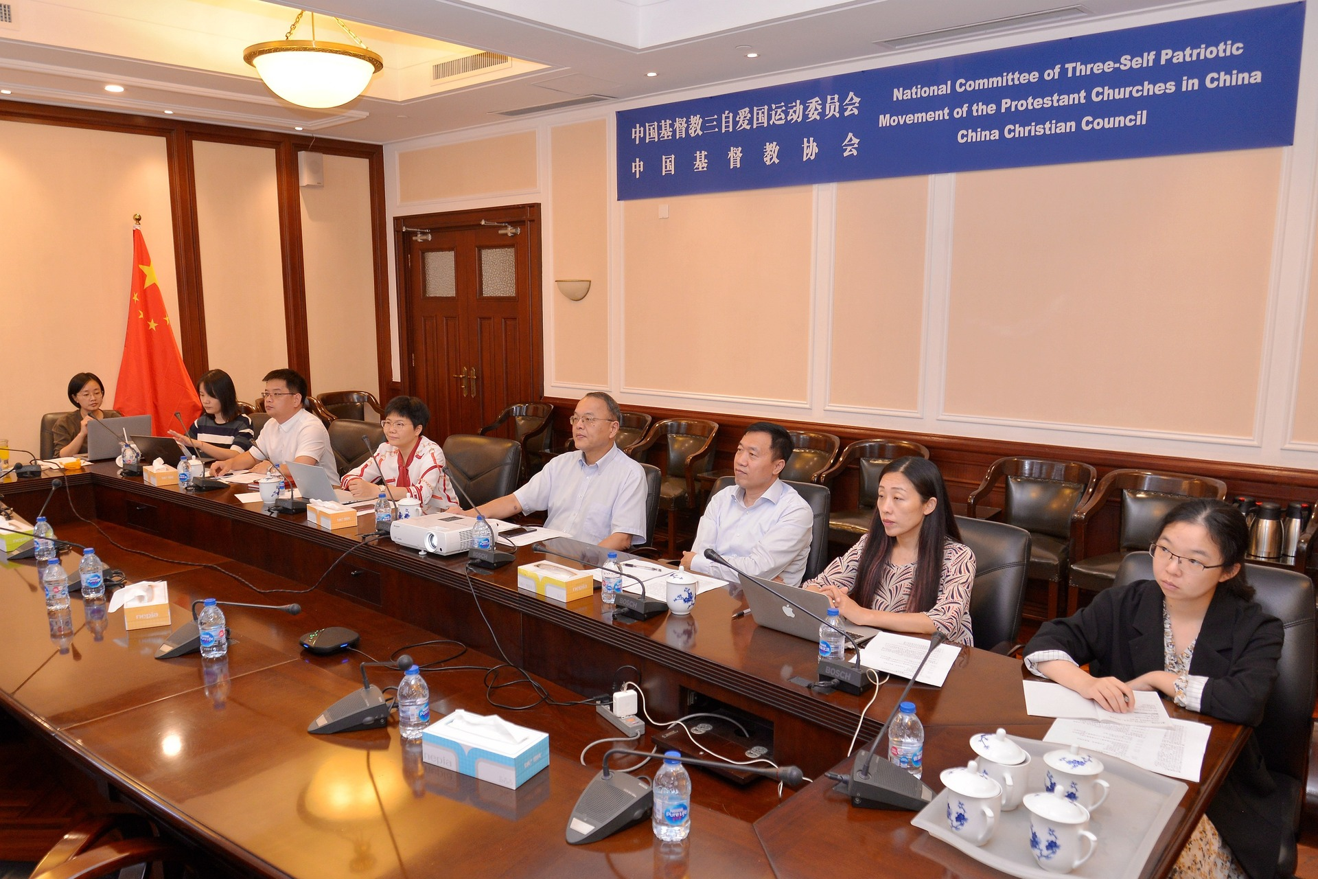 CCC&TSPM Holds a Virtual Meeting with WFCMC